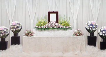スタンダードプラン 花祭壇