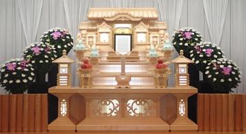 普通葬45 白木祭壇