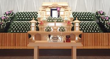 クオリティプラン120白木祭壇